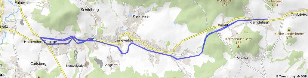 Cyklostezka Cunewalde