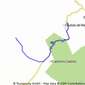 8th Stage. Cycling Mexico 2016
