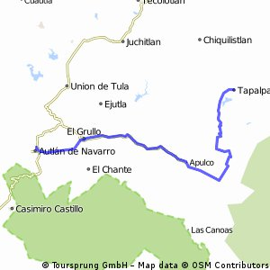 7th Stage. Cycling Mexico 2016