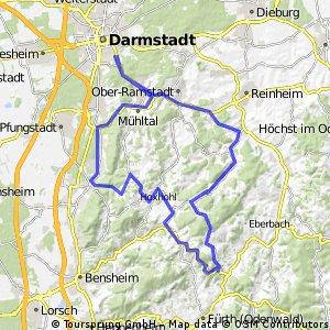 Saisonabschlussfahrt Darmstadt-Odenwald