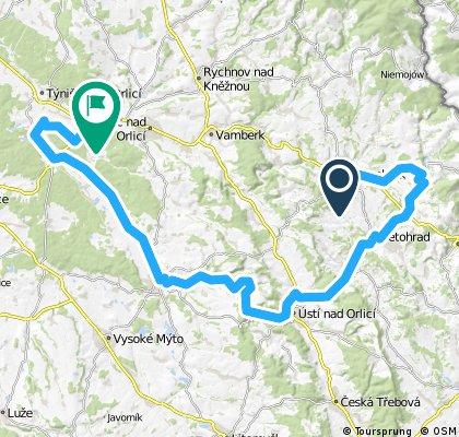 Žamberk-Letohrad-Ústí-Choceň-Žďár