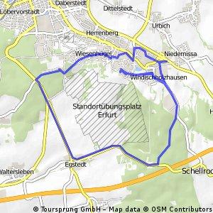 Radtour - Rund um den Drosselberg