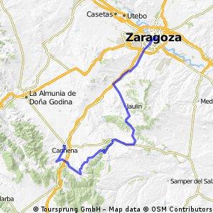 CX_Cariñena_Encinacorva_Paniza_Tosos_Fuendetodos_Jaulin_Zgz
