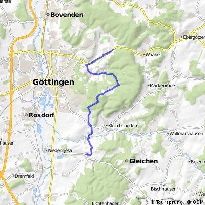 Von Roringen zum Rosengarten Reinhausen