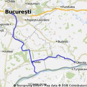 Bucuresti - Comana - Prundu - Oltenita