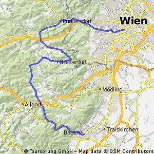 Baden nach pukersdorf