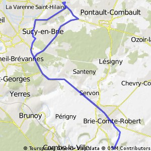 parcours velo gregy