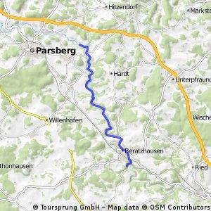 Laberradfahrt  Fischteich-Eggenthal