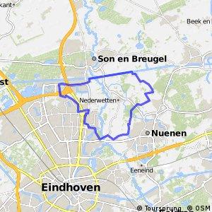 21 km - Rondom Nederwetten