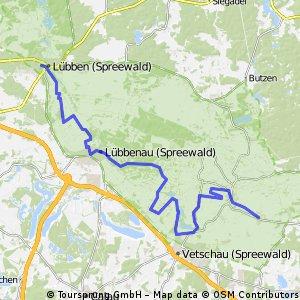 Gurkenradweg Day 01