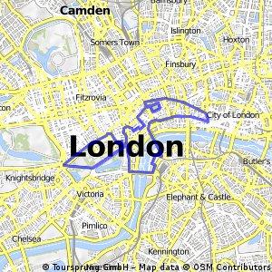 WNBR London 2012 Route - Probable