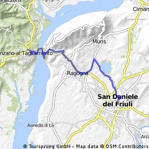 Da Pinzano a San Daniele