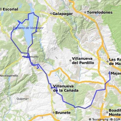 Majadahonda - Valdemorillo - Valmayor - Mirador del Romero