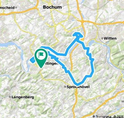 Tour Hattingen /Witten.