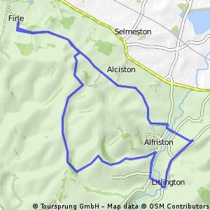 Firle-Lullington-Alfiston-Firle