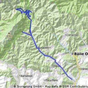 Traseu Valea Cheii - Cabana Cheia