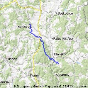 D23.6.-Lysice-Č.Hora-Olomučány