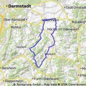 Reinheim - Neunkirchen - Reichelsheim - NiederKlingen - Reinheim