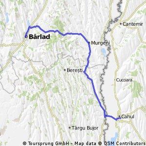 Cicloturism --13 iunie Barlad- Cahul si retur .