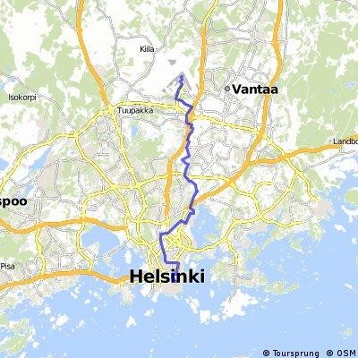 Helsinki Flughafen - Helsinki Hafen