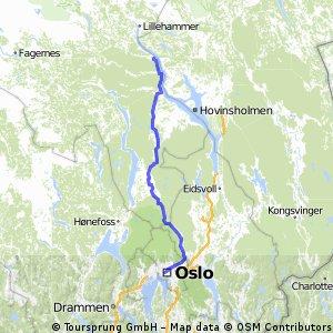1. Etappe - Norge rundt for barnekreftforeningen