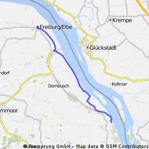 Elbabwärts 1 (25,0 km)