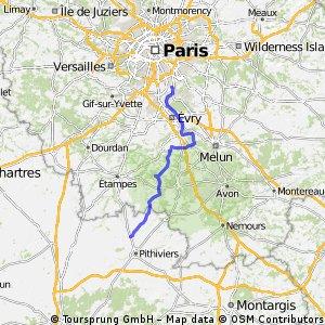 2015 Ride Day 45 - Lolainville to Villeneuve-le-Roi