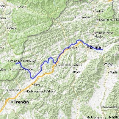 Cyklovýlet okolo Tatier 6. den