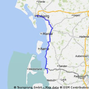 Cycling routes and bike maps in and around Esbjerg | Bikemap - Your ...
