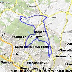 Le Tobboggan du Val d'Oise 32 lms