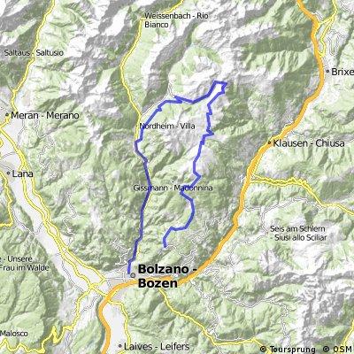 Oberbozen-Latzfonser Kreuz- Sarntal