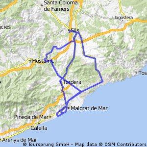 Santa Susanna-Blanes-Vidreres