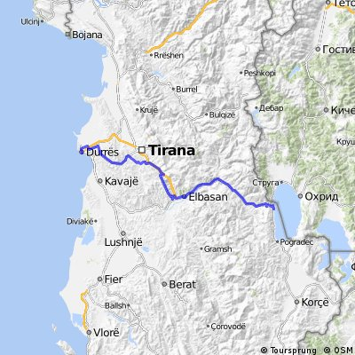 8 Tappa Durazzo - Lin Ohrid