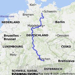 3909 Hagenow - Munchen