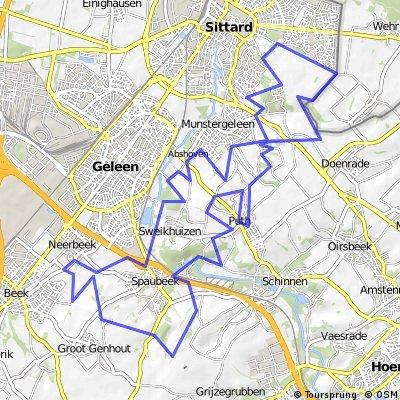 MTB Route Winddraak 38.5KM 560 Hm