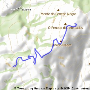 Valdarias - San Mamede (por Casa Forestal El Caudillo)