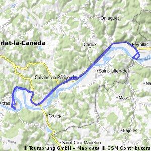 20-6-2015 (za) Rondje langs de Dordogne. (fr)
