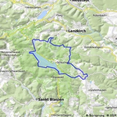 Schluchsee - Windgfällweiher