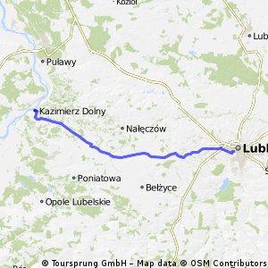 Lublin - Kazimierz Dolny
