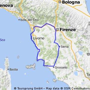 Cycling the Tuscan Coast