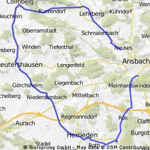 Südwestlicher Landkreis Ansbach