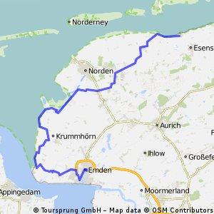 Emden - Bensersiel