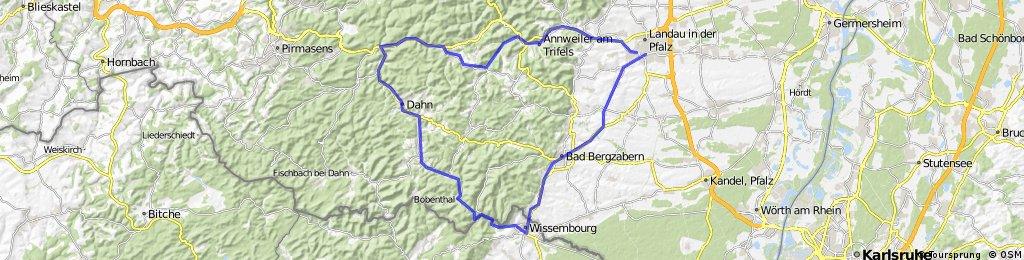 Landau-Weißenburg-Dahn-Hauenstein-Annweiler