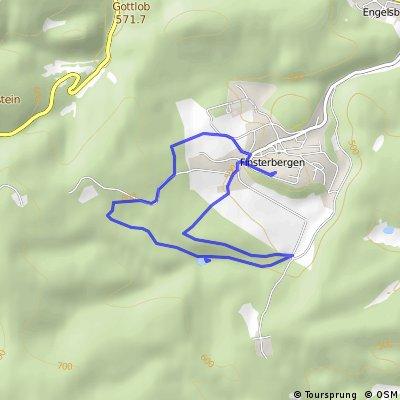 Wanderung: Finsterbergen - Brandleiteteich