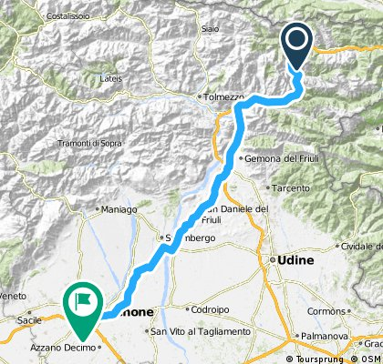 Villach - Florenz / Tag 2