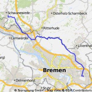 Schwanewede - Bremen Osterholz