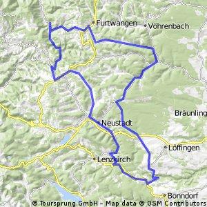 Hochschwarzwald '09: LinachWildgutach