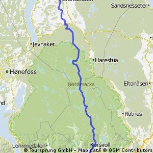 Dombås-Oslo - del 5 (Granavollen-Oslo)