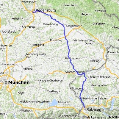 2. Regensburg - Salzburg