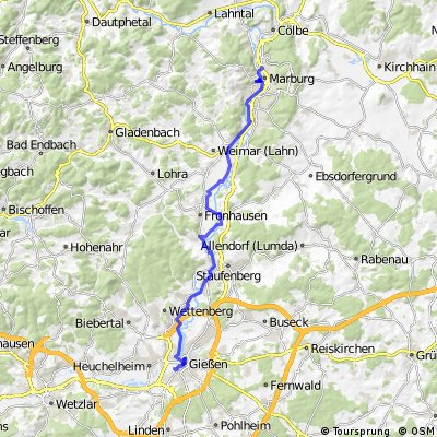 Marburg-Giessen via LTR
